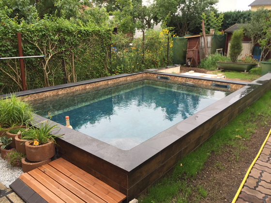 Poolbau berlin naturpool teich fachhandel und pool bau for Bestway pool for koi